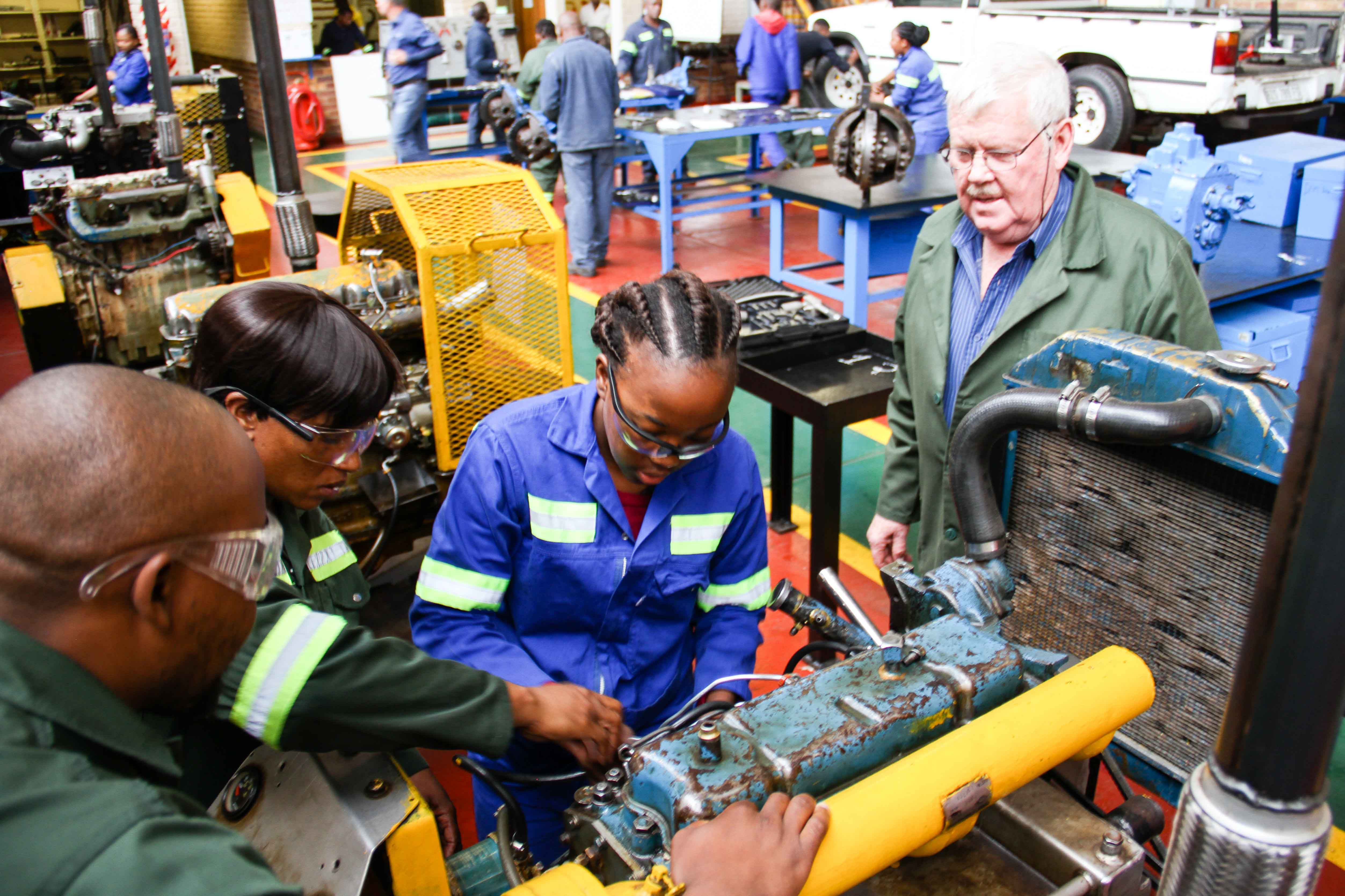diesel mechanic training college skills ctc colliery